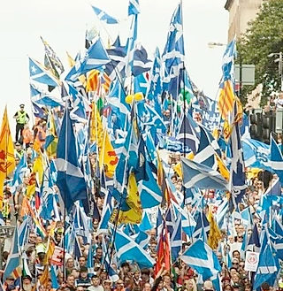 Edinburgh Yes Hub - Glasgow AUOBMarch