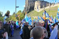 All Under One Banner March in Edinburgh